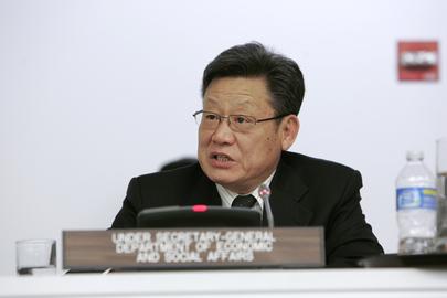 Secretário-Geral da Conferência das Nações Unidas sobre Desenvolvimento Sustentável, Sha Zukang