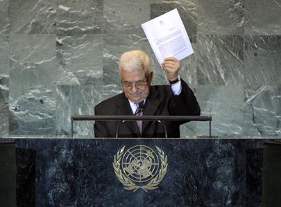 Presidente da Autoridade Palestina, Mahmoud Abbas, formalizou pedido nesta sexta-feira (23/9) e acusou Israel de impedir retomada do processo de paz. Foto: ONU/Marco Castro