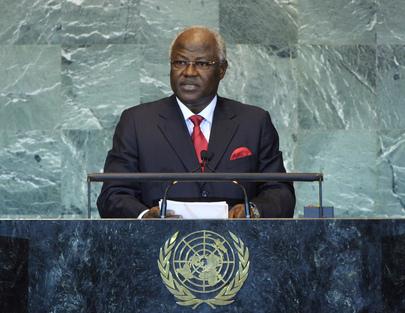President of Sierra Leone Addresses General Assembly
