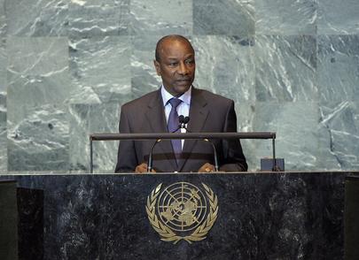 President of Guinea Addresses General Assembly