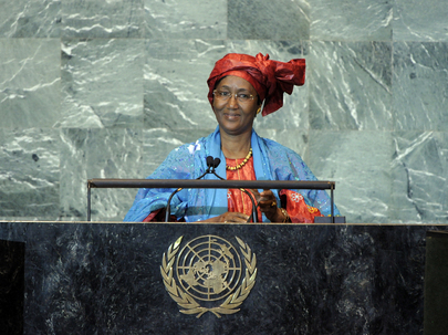 H.E. Mrs.Cissé Mariam Kaïdama Sidibé