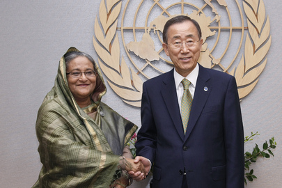 Secretaty-General Meets Prime Minister of Bangladesh