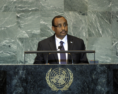 H.E. Mr.Abdiweli Mohamed Ali