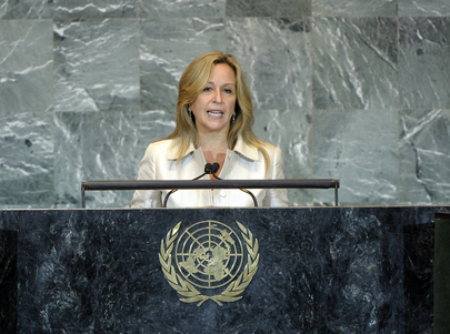 Foreign Minister of Spain Addresses General Assembly