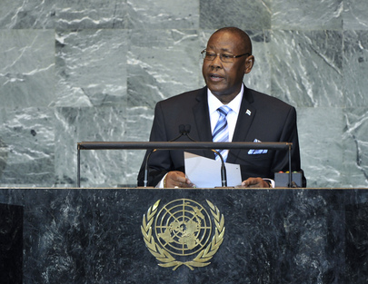 Vice-President of Botswana Addresses General Assembly