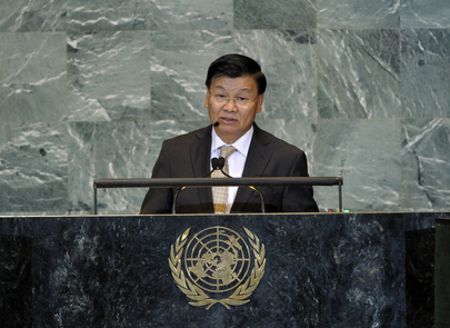 Foreign Minister of Lao Republic Addresses General Assembly