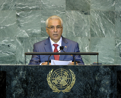 Foreign Minister of Tajikistan Addresses General Assembly