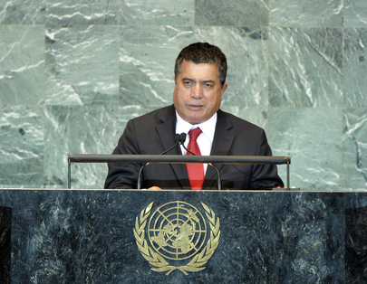 Foreign Minister of Marshall Islands Addresses General Assembly