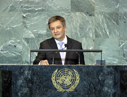 Foreign Minister of Andorra Addresses General Assembly