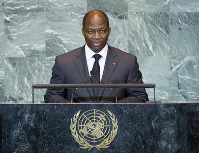H.E. Mr.Djibrill Ypènè Bassolé