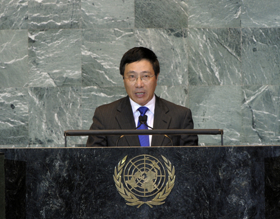 Foreign Minister of Viet Nam Addresses General Assembly