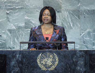 Permanent Secertary of Zambian Foreign Ministry Addresses General Assembly