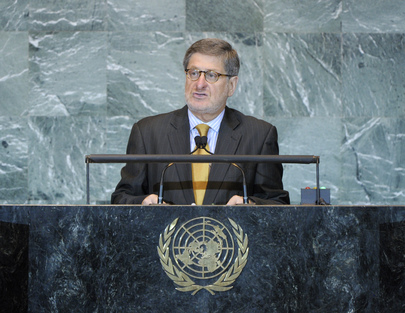Permanent Representative of Ecuador Addresses General Assembly