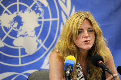 Head of South Sudan UN Mission Holds Press Conference
