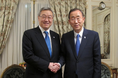 Secretaty-General Meets Foreign Minister of Republic of Korea