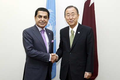 General Assembly President Meets Secretary-General