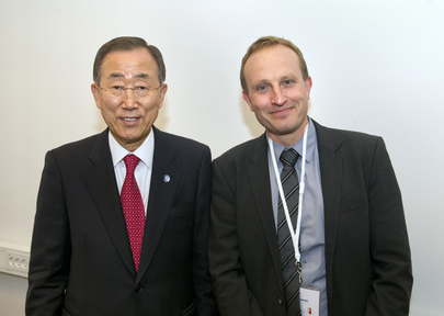 Secretary-General Meets Danish Climate and Energy Minister