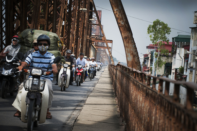 Urban View: Traffic in Hanoi, Viet Nam