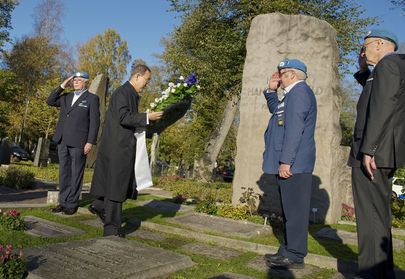 Secretary-General Visits Hammarskjld Gravesite in Uppsala, Sweden