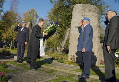 Secretary-General Visits Hammarskjöld Gravesite in Uppsala, Sweden