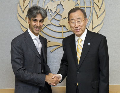 Secretary-General Meets Chair of UN Trade Law Commission