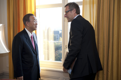 Secretary-General Meets Head of CTBTO in Bern