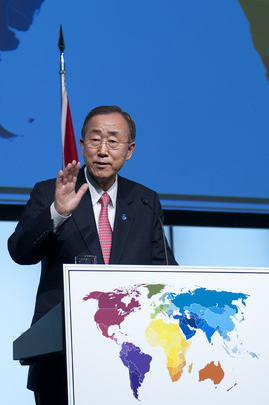 Secretary-General Opens 125th IPU Assembly in Bern, Switzerland