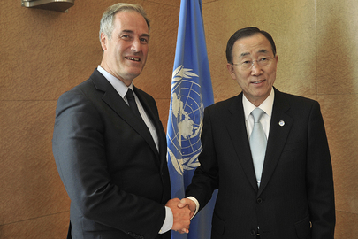 Secretary-General Meets Member of House of Lords in Geneva