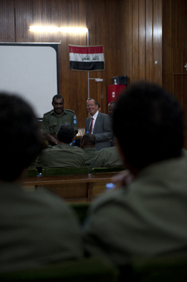 New UNAMI Head Holds Town Hall Meeting with Staff in Baghdad