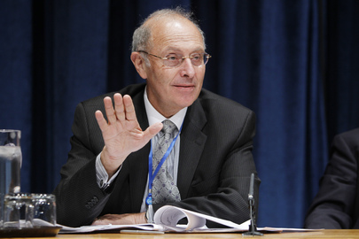 Presidente do Comitê da ONU contra a Tortura, Claudio Grossman.Foto:ONU/Rick Bajornas