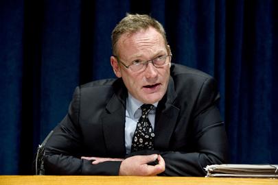 O Relator Especial da ONU sobre direitos humanos e luta contra o terrorismo, Ben Emmerson. (ONU/Eskinder Debebe)