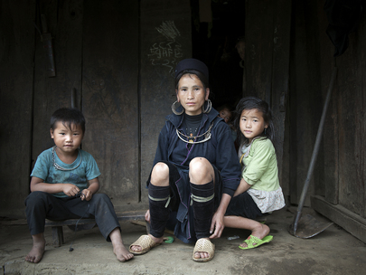 World Ferility Rates: Indigenous Family in Viet Nam