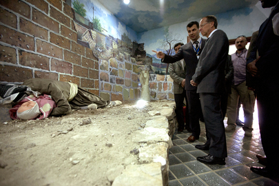 Special Representative for Iraq Visits Monument Honouring Victims of 1988 Chemical Attack