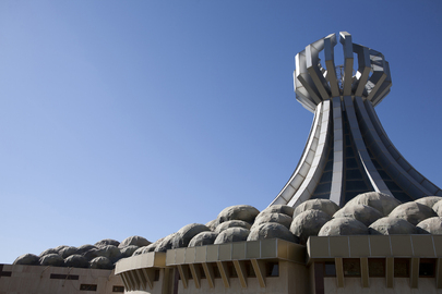 Halabja Monument Remembers Kurdish Victims of 1988 Gas Attack