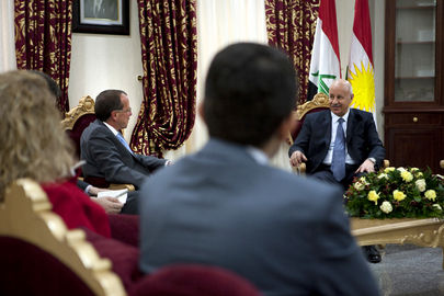 Special Representative for Iraq Meets Kurdistan Region Interior Minister
