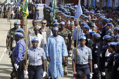UN Day Parade in Darfur
