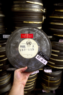 Headquarters Archives Open on UNESCO-Declared A/V Heritage Day