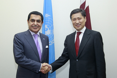 General Assembly President Meets Prime Minister of Mongolia