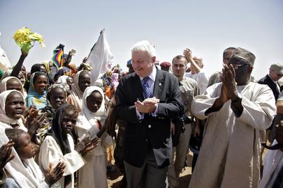 Head of UN Peacekeeping Visits Darfur