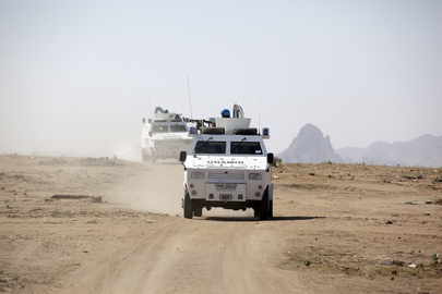 Head of UN Peacekeeping Visits Darfur