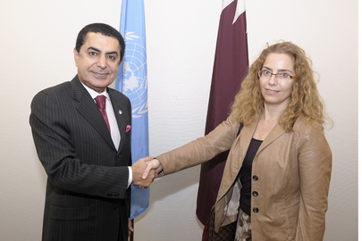 General Assembly President Meets President of Human Rights Council 