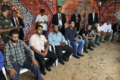 Secretary-General Visits Khalida Ferjan Grave Site in Tripoli
