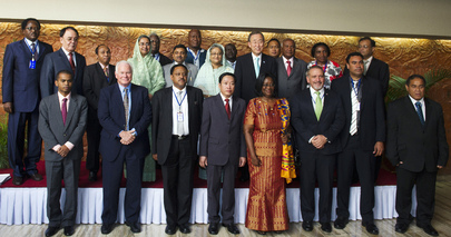 Secretary-General Attends Climate Vulnerable Forum in Dhaka