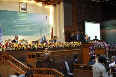Secretary-General Attends Celebration of Bangladeshi e-Governance Initiative