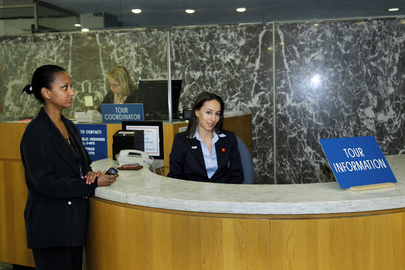 Tour Guides at UN Headquarters