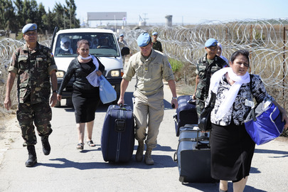 Pilgrims Visit Abandoned City in Demilitarized Golan