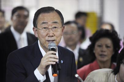 Ban Ki-moon (Foto:UN Photo/Mark Garten)