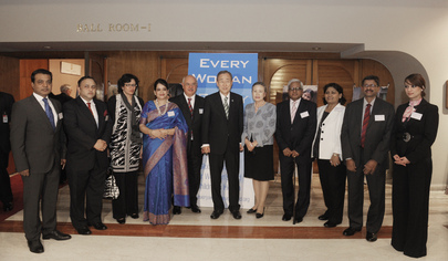 "Secretary-General Attends ""Every Woman, Every Child"" Dinner in Dhaka"