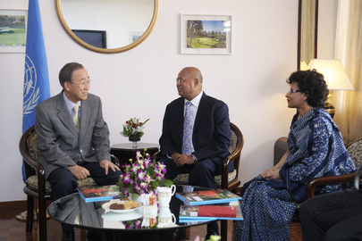 Secretary-General Meets Leadership of Development Organisation, BRAC