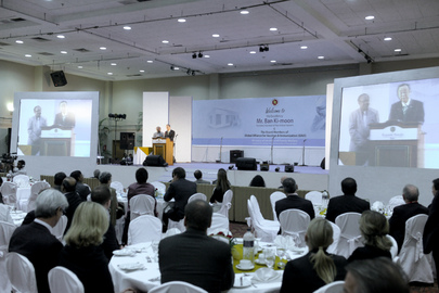 Secretary-General Speaks at GAVI Reception in Dhaka